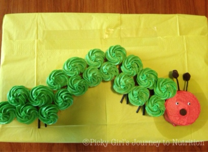 """""""A Very Hungry Caterpillar"""" Inspired by the children's book by Eric Carle"""