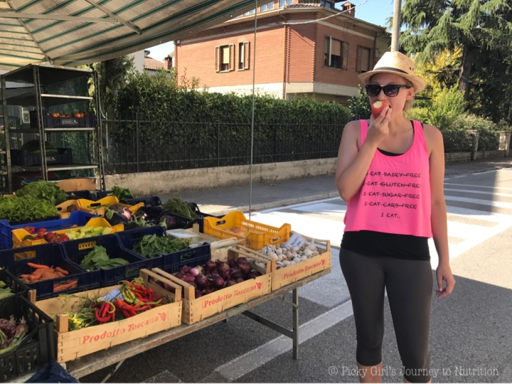 Italian Farmer's Market –Cortona